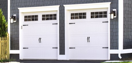 Classic steel skeirik door for Garage door r value chart